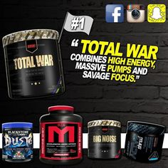 Total War keeps making waves in Aus! Show of hands who has tried this savage pre workout.