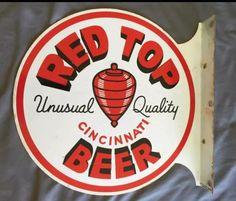 Red Top Beer Sign