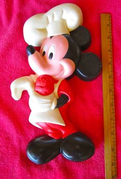 Chef Mickey Mouse for your vintage kitchen!  from Etsy,   WeirdMary
