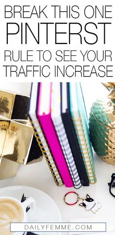 When it comes to increasing your traffic there's all kinds of rules to follow - but breaking this one Pinterest rule increased my traffic significantly, far more than I ever thought possible.