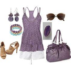 """Purple"" by sapple324 on Polyvore"