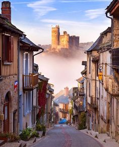 Najac, France : europe
