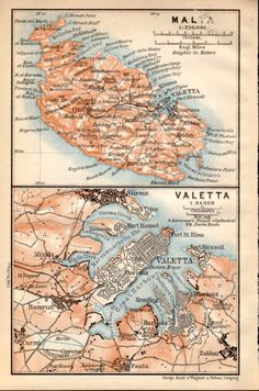11 Best malta map images