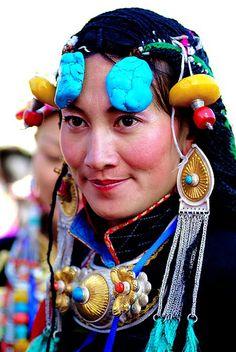 Tibetan woman *