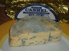 Cheese.com: Cashel Blue  This is currently my FAVOURITE BLUE it is so earthy and dreamy and I'm totally in love with it!!!