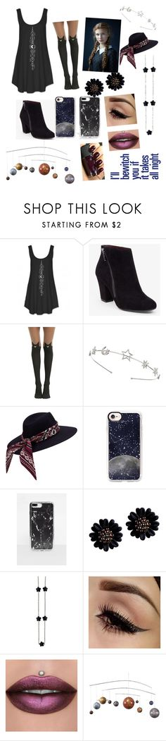 """Its all good baby baby"" by sweetheart-the-moonbear ❤ liked on Polyvore featuring BCBGeneration, Hot Topic, Miss Selfridge, Casetify, Missguided, Revlon and Authentic Models"