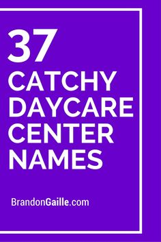 cute babysitting names