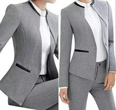 Office Dresses Office Outfits Blazers For Women Suits For Women Office Fashion Work Fashion Hijab Fashion Fashion Outfits Jacket Pattern Work Fashion, Cute Fashion, Fashion Design, Business Outfits, Business Attire, Ladies Business Suits, Office Outfits, Blazer Outfits, Dress Suits