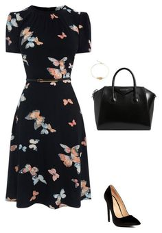 Replace Your Florals With These 17 Gorgeous Butterfly Prints - Work Outfits Women Work Fashion, Modest Fashion, Fashion Clothes, Fashion Dresses, Fashion Tips, Fashion Fashion, Womens Fashion, Fashion Heels, Fashion Beauty