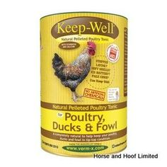Verm X Keep Well Parasite Control For Poultry 750g Verm X Keep Well For Poultry…