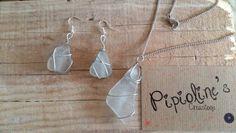 Collar piedras de cristal