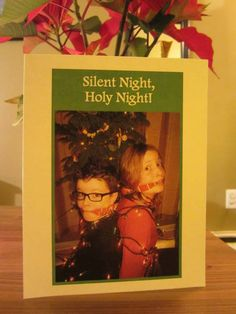 Duct Tape Silent Night Happy Christmas And Christmas