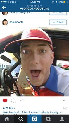The Real Slim Shady music video Eminem Funny, Eminem Rap, Eminem Smiling, The Real Slim Shady, Eminem Slim Shady, Rap God, Best Rapper, American Rappers, Inspirational Celebrities
