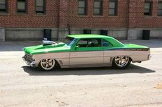 Rusty Seaman Pro Street Chevy Nova
