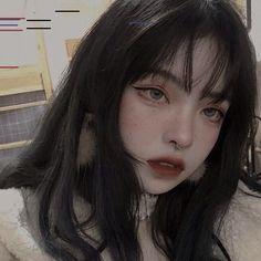 Cute Makeup, Makeup Looks, Hair Makeup, Edgy Makeup, Japonese Girl, Ulzzang Makeup, Alternative Makeup, Grunge Girl, Soft Grunge Hair