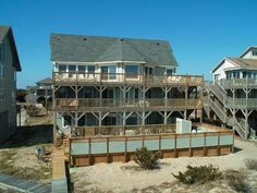 Outer Banks Vacation Rentals | Avon Vacation Rentals | Flip Floppin' #912 |  (6 Bedroom Oceanfront House)