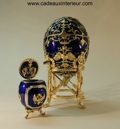 Faberge Egg: The egg of the Tsarevich and his surprise egg to crown