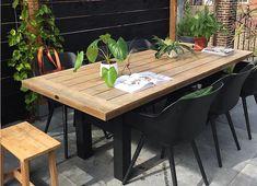 Outdoor Furniture, Outdoor Decor, Exterior, Sweet Ideas, Garden, Table, Home Decor, Balcony, Garten