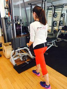 Work out essentials #heyjolondon leggings #monreallonfon hoody #ralphlauren tank #niki trainers