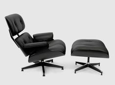 """Herman Miller """"Eames Lounge Chair & Ottoman"""" – Limited 'All Black' Asia Edition • Highsnobiety"""