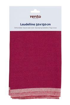 Laudeliina puolukanpunainen iso - Kylpyhuone ja sauna - Hyvän Tuulen Puoti