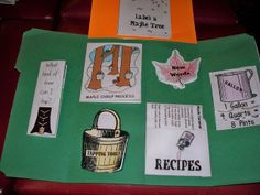 Maple Syrup Lapbook - Ben and Me