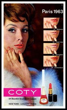 Coty Lipstick & Nail Enamel