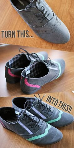The Dainty Squid: DIY Shoes