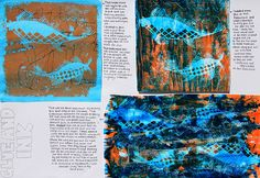 Art Theme Gone Fishing, Art Theme In the Sky  Sketchbooks, Art Students at CAPI::: Create Art Portfolio Ideas milliande.com, Art School Portfolio Work, Sketching, Journal, Ideas, Design, Inspiration Log, Skizzenbuch, GCSE Art, A Level Art, Art College, IB, Art Teacher