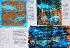 Art Theme Gone Fishing, Art Theme In the Sky  Sketchbooks, Art Students at CAPI::: Create Art Portfolio Ideas milliande.com, Art School Portfolio Work, Sketching, Journal, Ideas, Design, Inspiration Log, Skizzenbuch, GCSE Art, A Level Art, Art College, IB, Art Teacher