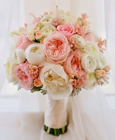 Delicate and ethereal wedding ceremony bouquet through Mirelle Carmichael Images / www.himis Delicate and ethereal wedding ceremony bouquet through Mirelle Carmichael Images / www. Bride Bouquets, Bridesmaid Bouquets, Wedding Bridesmaids, Blush Weddings, Bridesmaid Ideas, Bridal Flowers, June Wedding Flowers, Blush Pink Wedding Flowers, Mauve Wedding