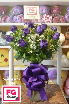 Purple Roses in A Vase   Send Flowers to Davao, Philippines  123 Lopez Jaena St., Davao City FB Page - FG Davao www.FGDavao.com 0998 579 5720  #purple #purpleroses #roses #flowers #flowershop #flowerarrangements #flowerdelivery #fleurs #floral #sendflowers #giftdelivery #florist #fg #gifts #giftsdavao #giftsph #giftideas #giftitems #flowershop #giftshop #giftdelivery #davao #ph #delivery #service #fgdavao