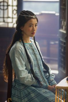 Still of Zhu Zhu in Marco Polo (2014)