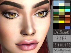 Here are some new eyes for your sims! Found in TSR Category 'Sims 4 Eye Colors'