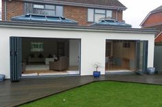 Call Radcliffe Glass & Windows on 0161 724 8501 for the design and build of home extensions like uPVC porches. We cater to clients in Greater Manchester, Lancashire and Cheshire Bungalow Extensions, Garden Room Extensions, House Extensions, Kitchen Extensions, Kitchen Diner Extension, Open Plan Kitchen Diner, House Extension Design, House Design, Extension Ideas