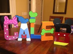 Mickey Mouse Clubhouse inspired decorations