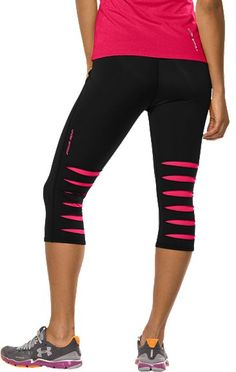 Under Armour! Love these but order a size smaller...