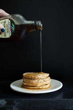 cinnamon sweet potato pancakes