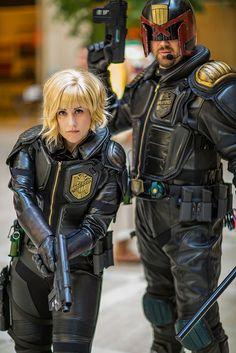 Judge Dredd (2013 Reboot) | AWA 2013 #cosplay