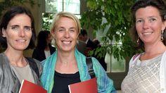 Sophie Maréchal, Séverine Vanderborght, Hélène de Cock, de la Fondation Dyslexie. Madewell, Tote Bag, Bags, Fashion, Dyslexia, Handbags, Moda, Fashion Styles, Totes