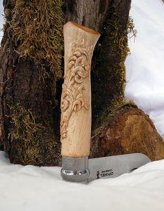 Opinel Knife, Victorinox Swiss Army Knife, Dremel Projects, Edc Knife, Urban Survival, Cool Knives, Knife Handles, Knife Making, Katana