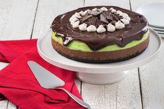 Recipe: Chocolate Peppermint Cheesecake