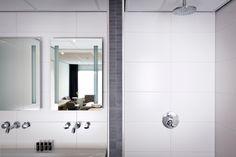 Mooi sanitair in het kleinste hotel van Texel