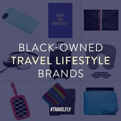 One more time...because we want MORE! Tag your favorite #blackowned brand that is very #TravelFly - from travel-ready beauty and personal care products to passport covers and luggage tags to weekend bags pillows x blankets to luggage. And don't forget about #blackowned resort wear travel pouches and candles! Tag a brand tag a friend who has a brand so they can then tell us about it tag yourself if you have a product! The more we know the more others will as selected brands will be included…