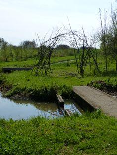 Boog tussen cultuur en natuur in Alphen aan den Rijn, Afra van Ruiten