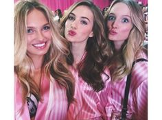 As melhores selfies das Angels nos bastidores do Victoria's Secret Fashion Show 2015