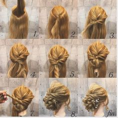 5 Rockin' Short Hairstyles to Try this Season – Model Hairstyles Trending Hairstyles, Popular Hairstyles, Fancy Hairstyles, Afro Hairstyles, Curly Hair Updo, Prom Hair Updo, Hair Cute, Prom Hair Tutorial, Vintage Updo