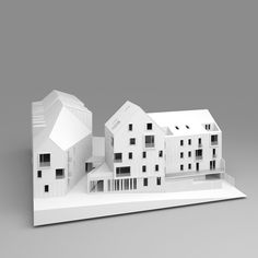 THOR1                                                                                                                                                                                 Plus Residence Senior, Architect Logo, Architect House, Landscape Model, Arch Model, Social Housing, Famous Architects, Urban Planning, Urban Design