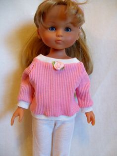 Corolle Les Cheries Doll Clothes, Sweater and Leggings, fits 13-14inch Dolls