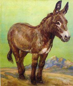 vintage clip art donkey - Google Search